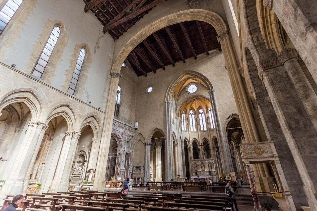 The Church of San Lorenzo Maggiore in Naples.