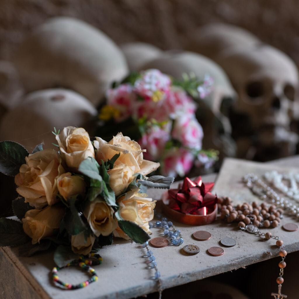 The Church of Skulls in Naples.