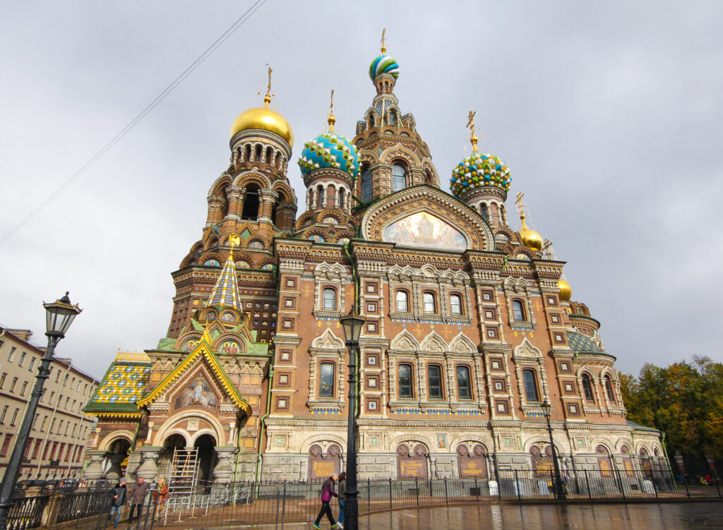 The Church Of The Savior On The Spilled Blood.