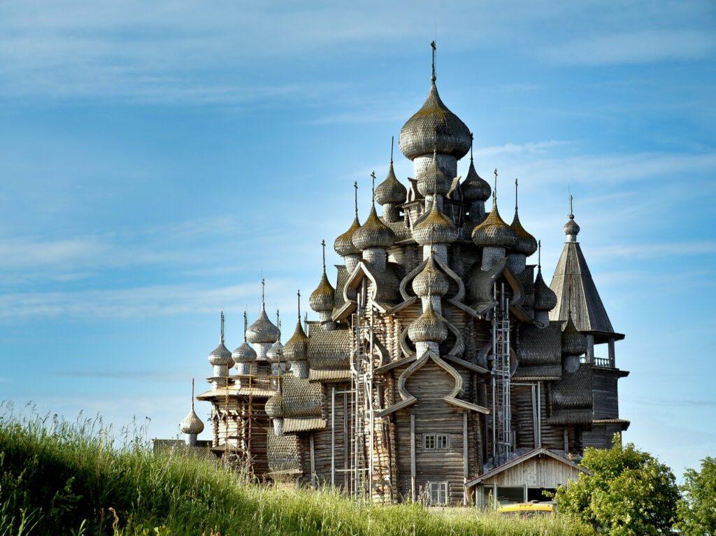 The Church of Transfiguration in Russia.