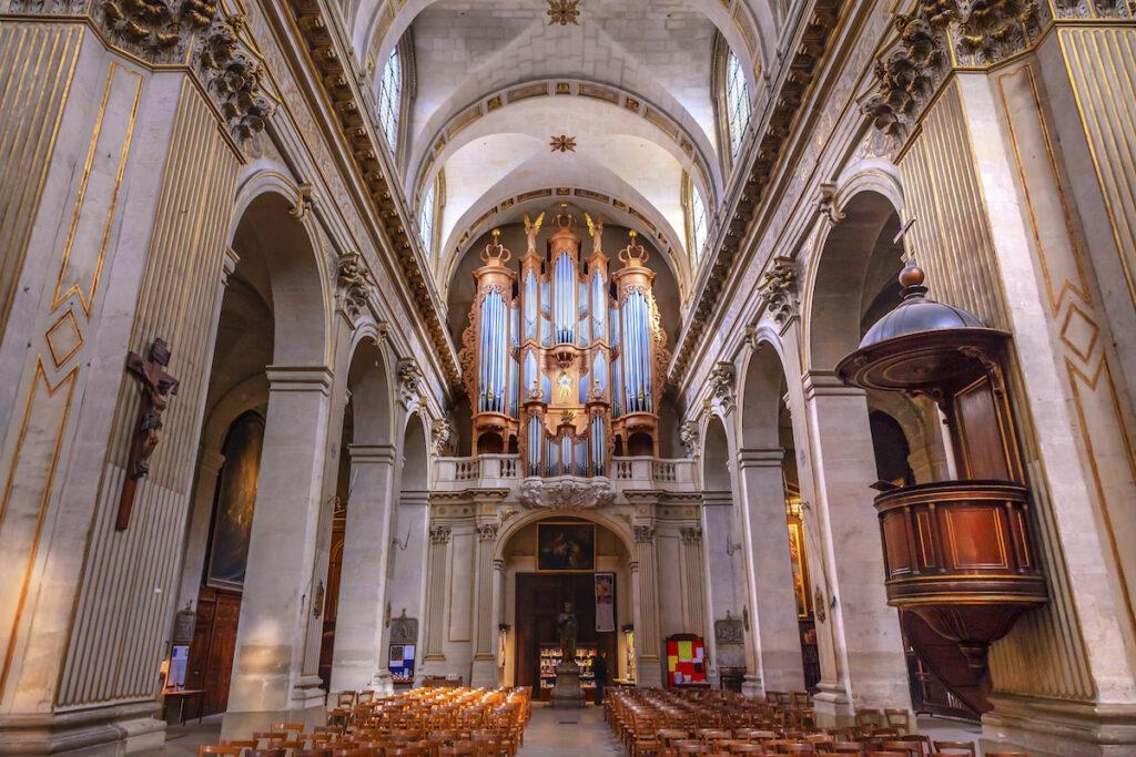The Church Saint-Louis-En-l'Ile in Paris, France.