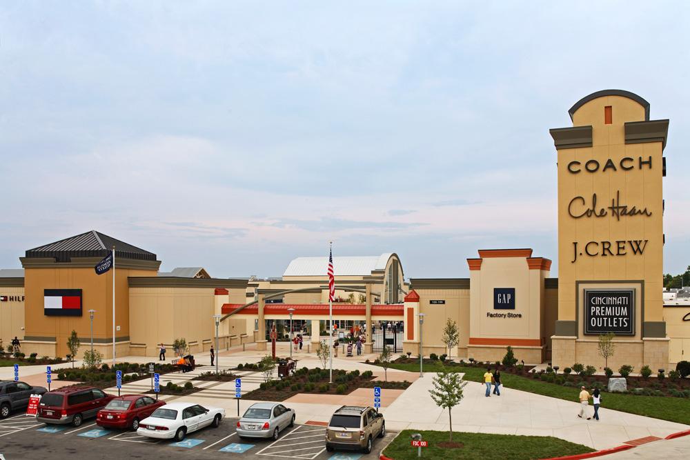 The Cincinnati Premium Outlets.