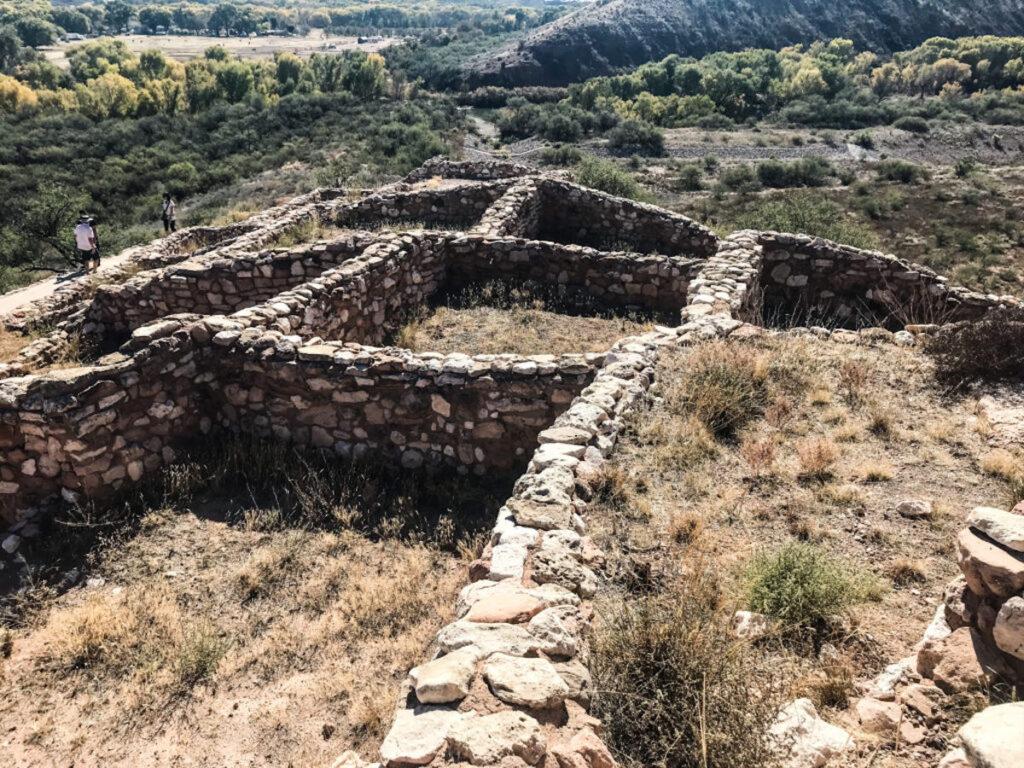 The Citadel at Tuzigoot National Monument.