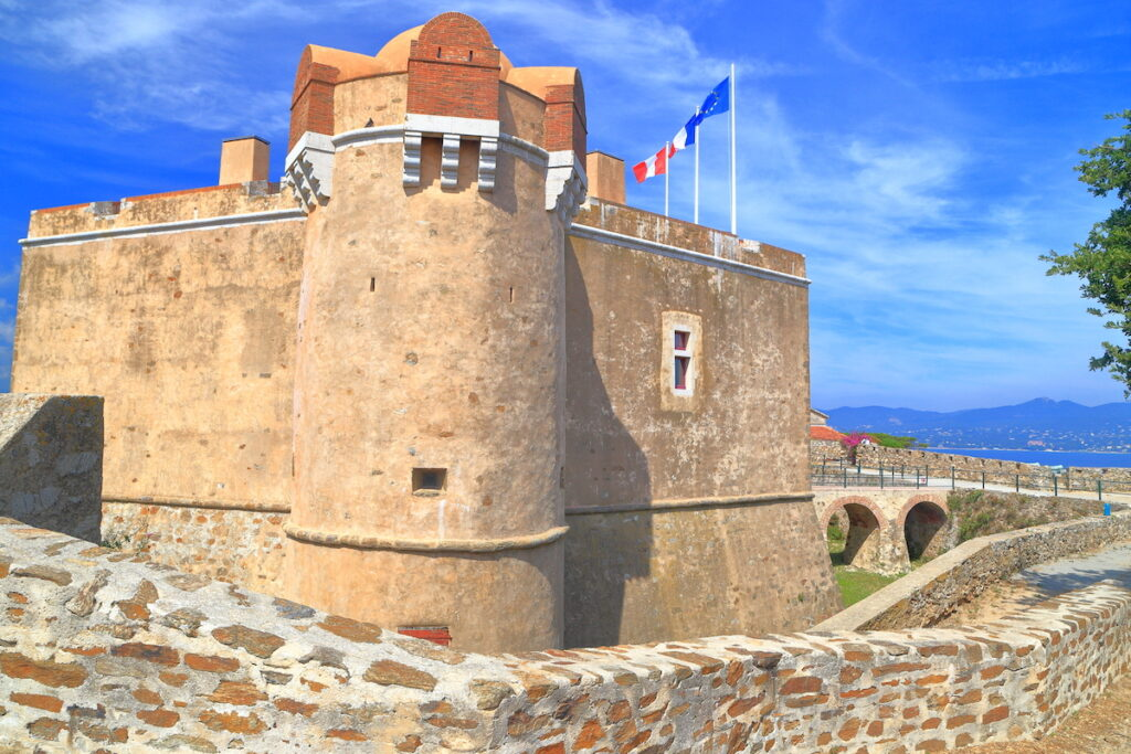 The Citadel in Saint Tropez, France.