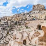 The city of Cappadocia, Turkey.