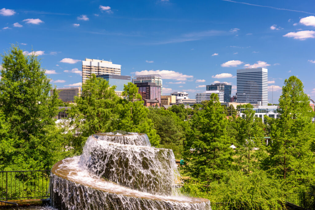 The city of Columbia, South Carolina.