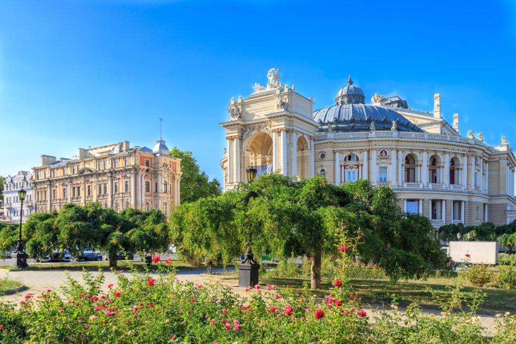 The city of Odessa, Ukraine.