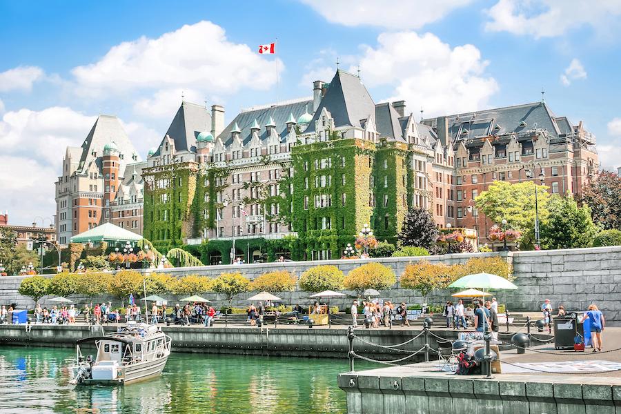 The city of Victoria, Canada.