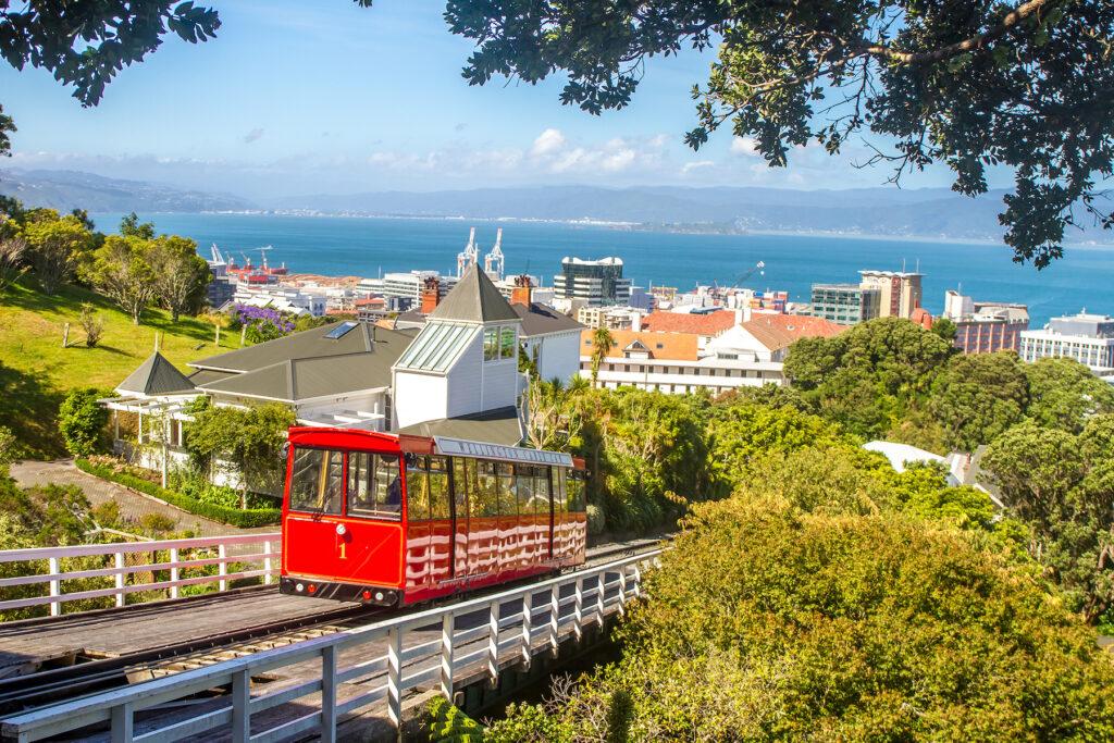 The city of Wellington, New Zealand.