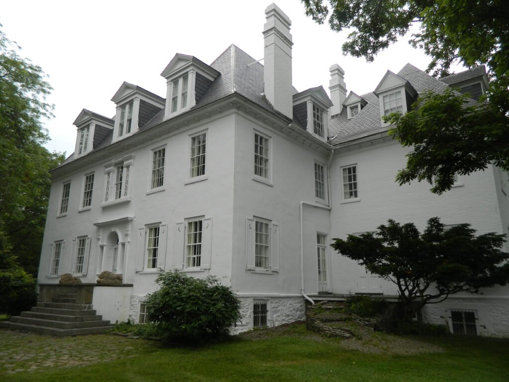 The Clermont mansion in Germantown, New York.