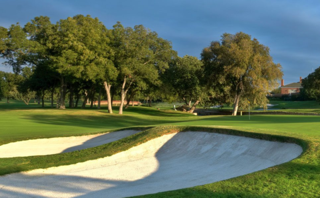 The Colonial Country Club in Fort Worth.