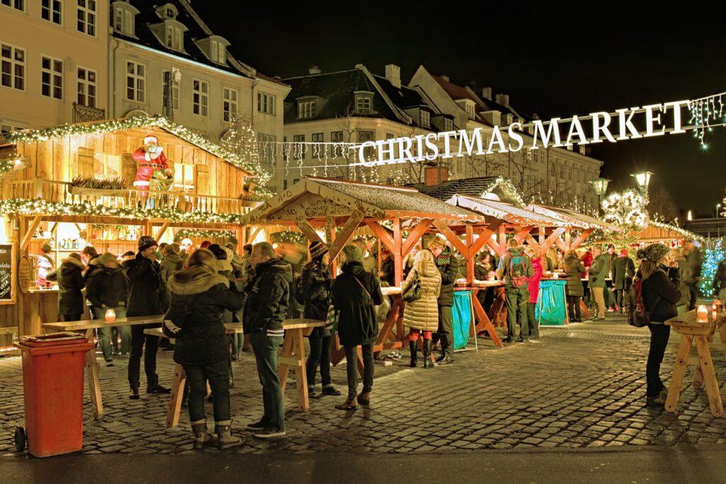 The Copenhagen Christmas Market.