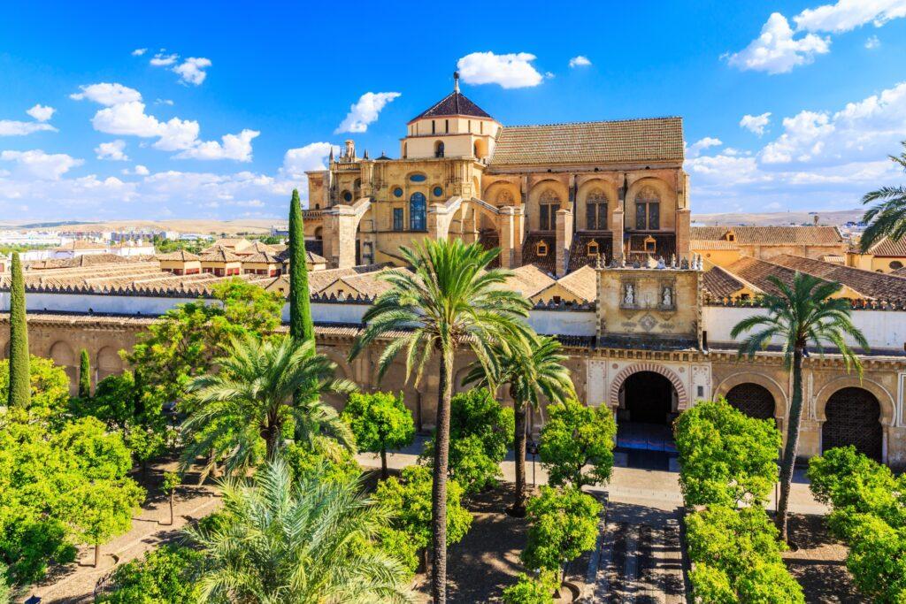 The Cordoba Mezquita.