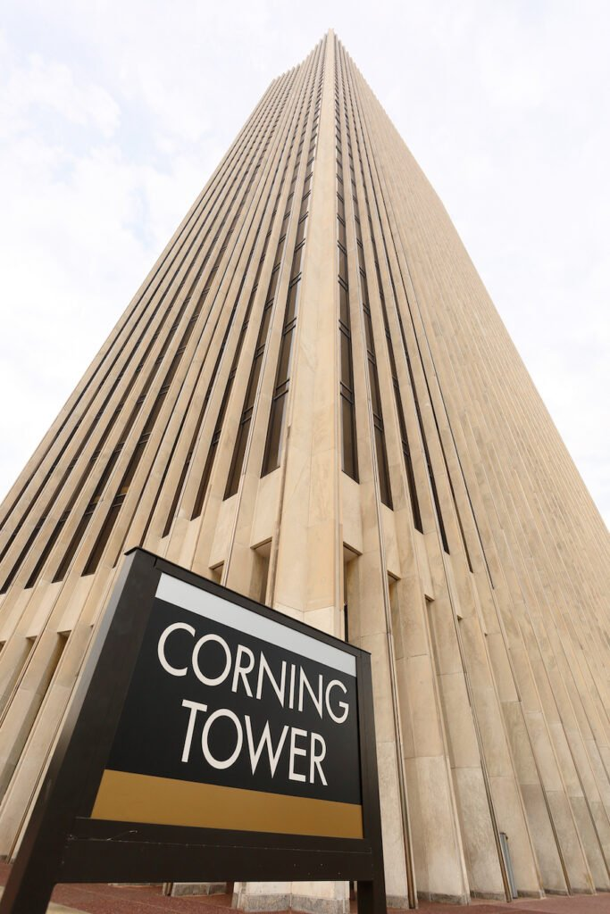 The Corning Tower in Albany, New York.