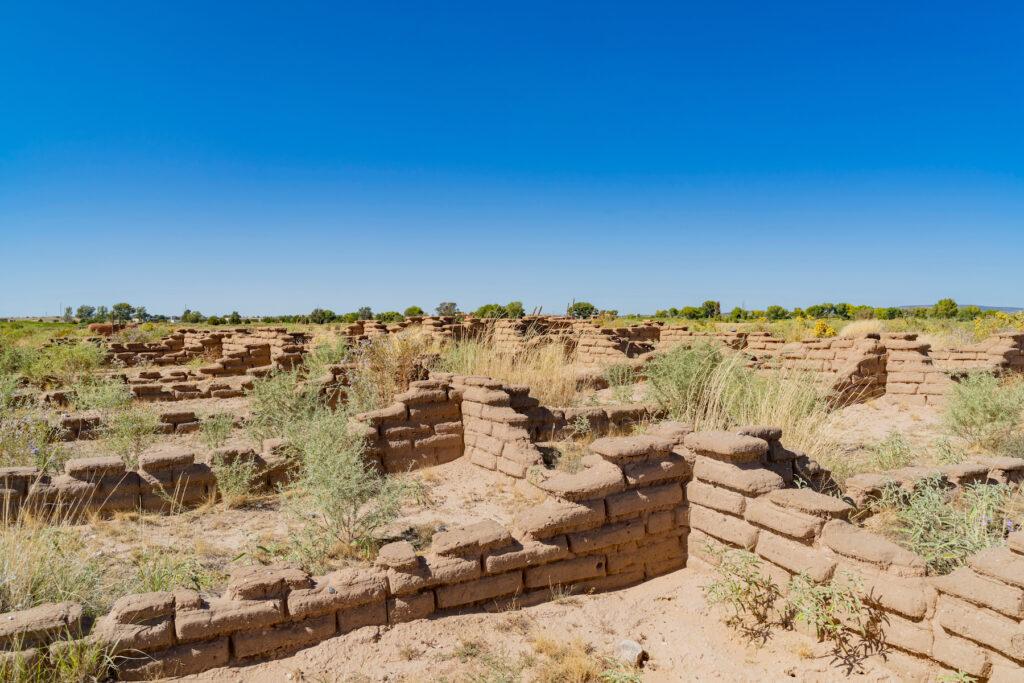 The Coronado Historic Site in New Mexico.