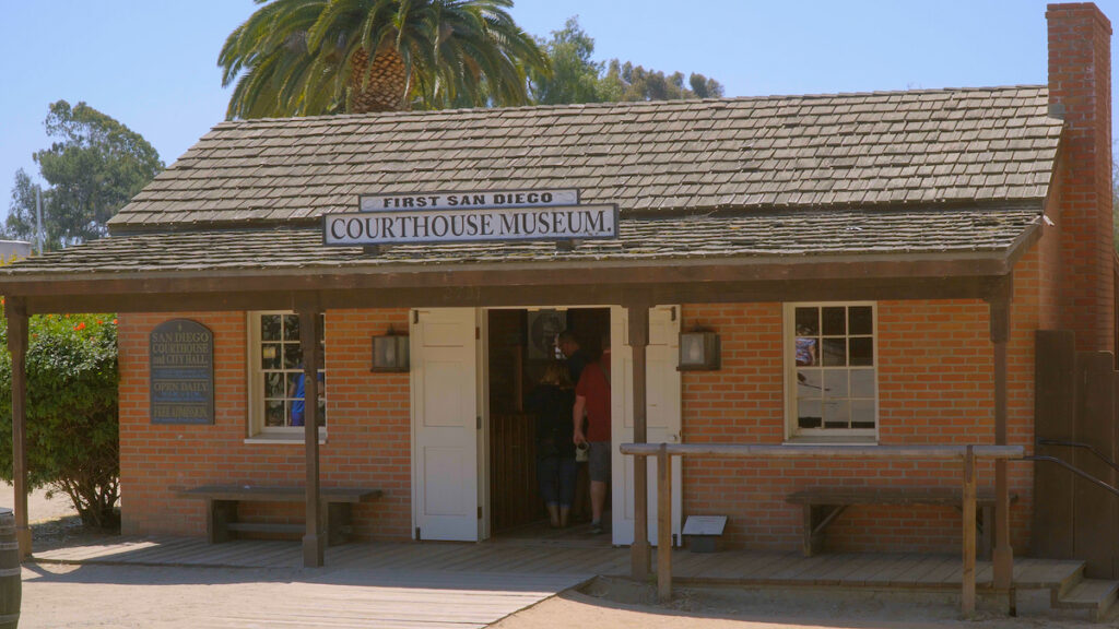 The Courthouse Museum in Old Town San Diego.