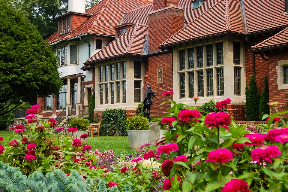 The Cranbrook House and Gardens in Detroit