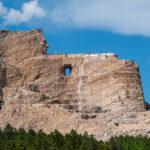 The Crazy Horse Memorial in South Dakota.