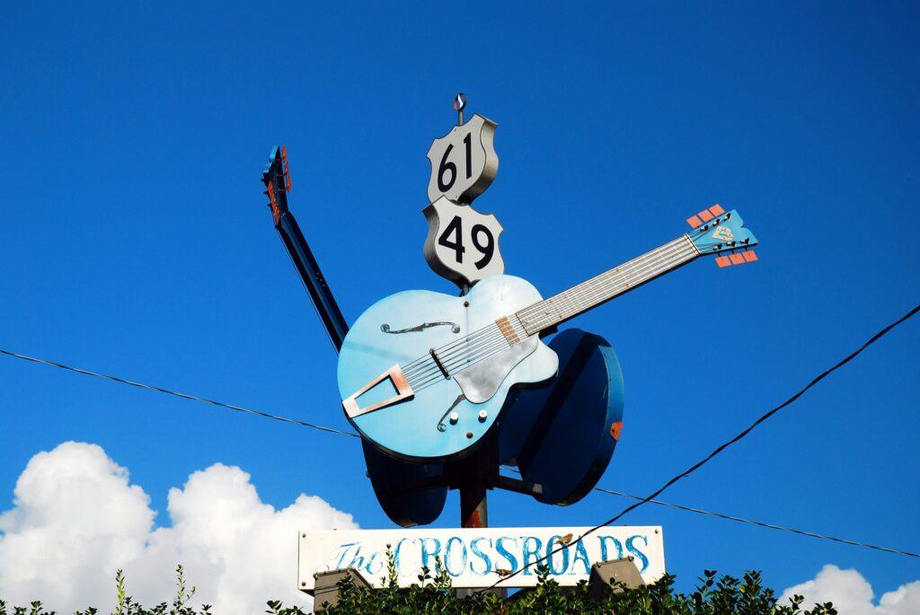 The Crossroads in Clarksdale.