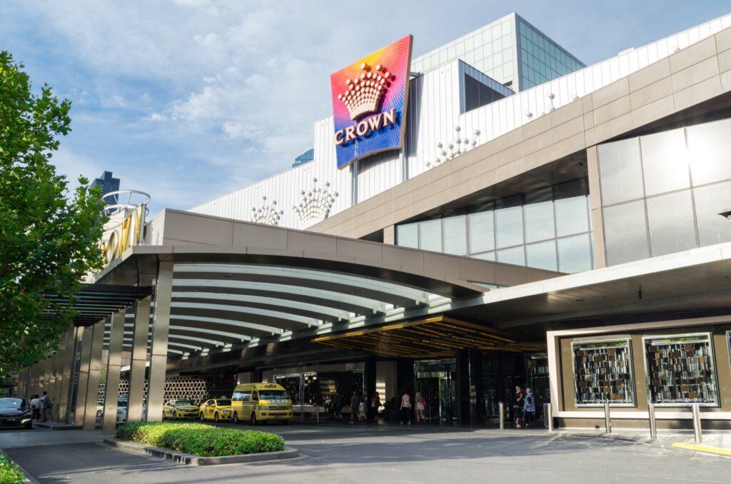 The Crown Casino in Melbourne.