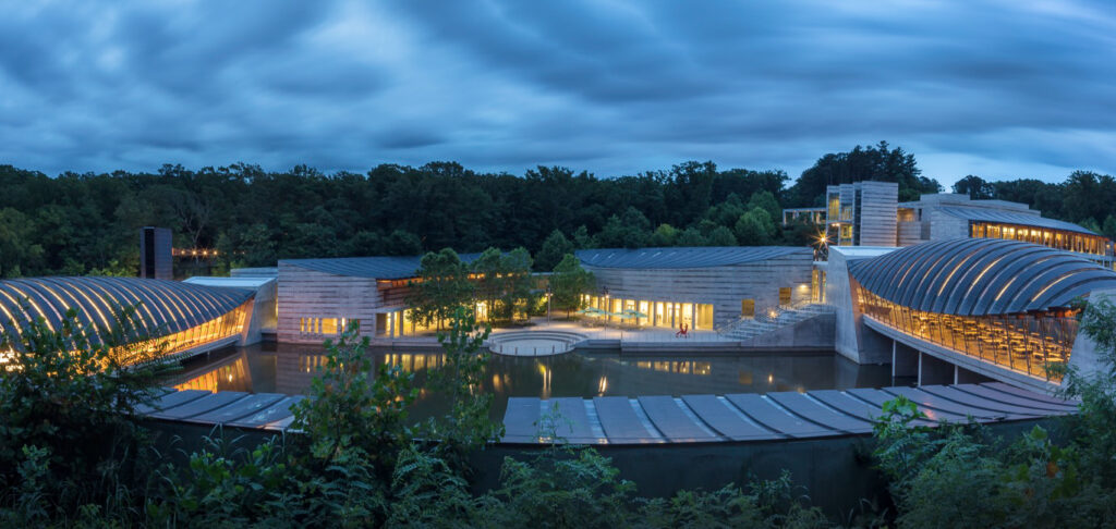 The Crystal Bridges Museum Of Modern Art.
