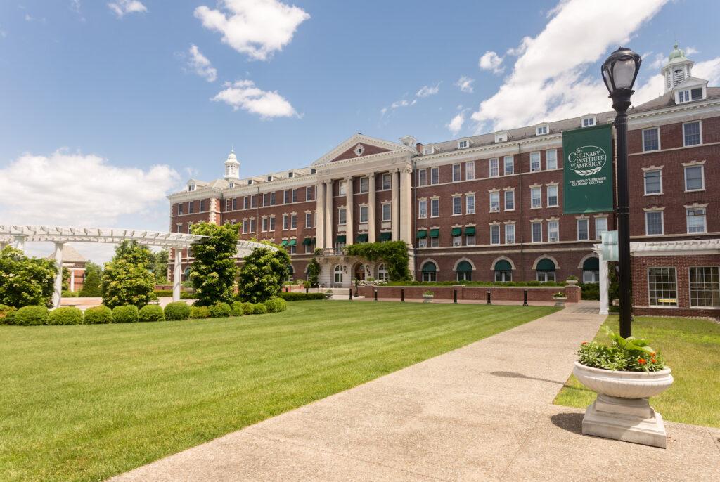 The Culinary Institute of America in New Hyde Park.