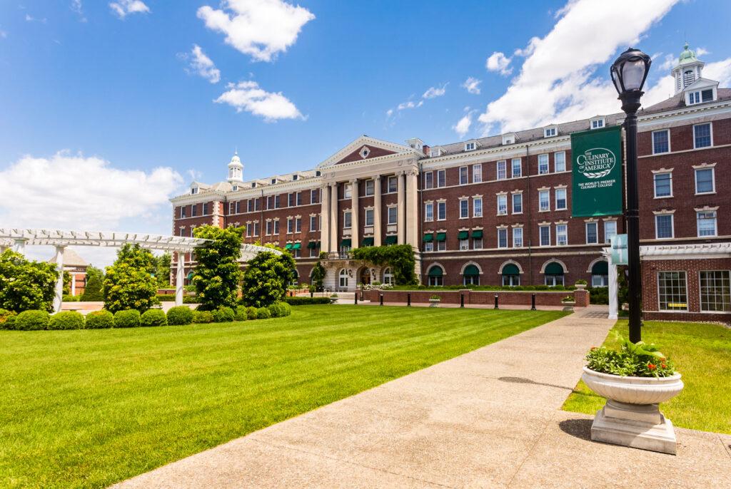 The Culinary Institute of America.