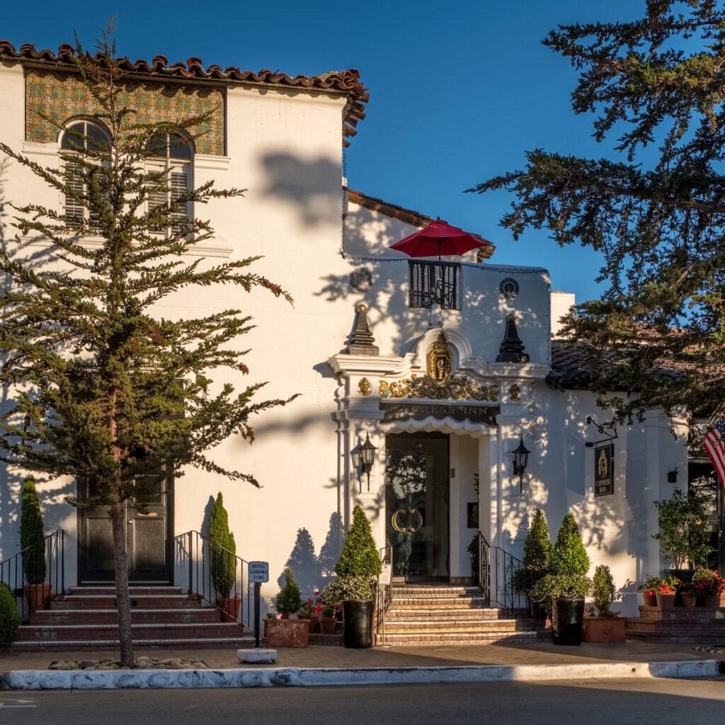 The Cypress Inn in Carmel-by-the-Sea, California.