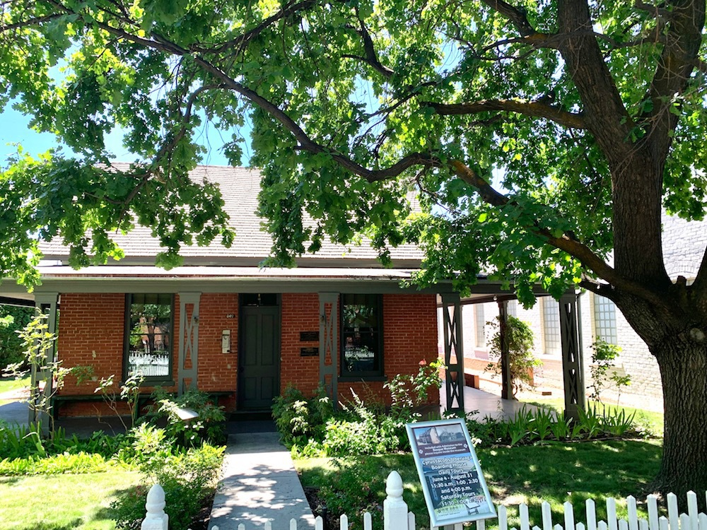 The Cyrus Jacobs boarding house in Boise.