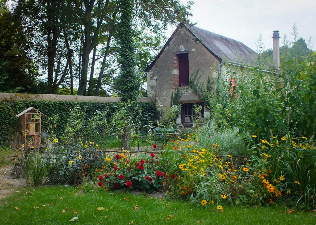 The Da Vinci gardens at the Chateau Du Clos Luce.