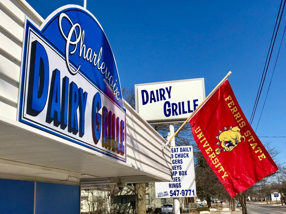 The Dairy Grille in Charlevoix, Michigan.
