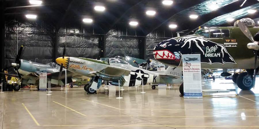 The Dakota Territory Air Museum in Minot.