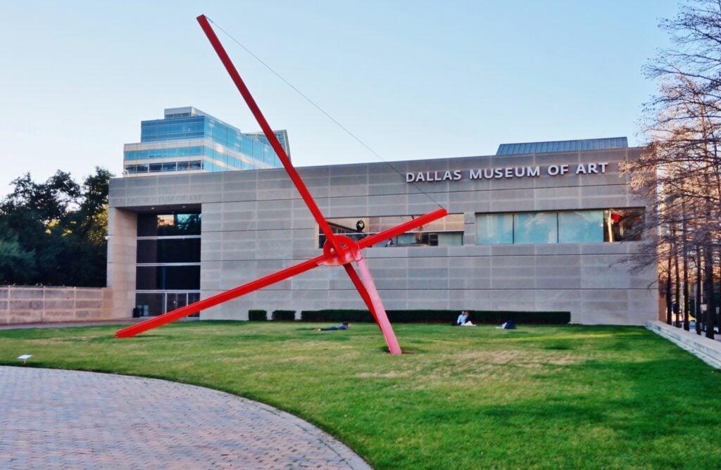 The Dallas Museum of Art.