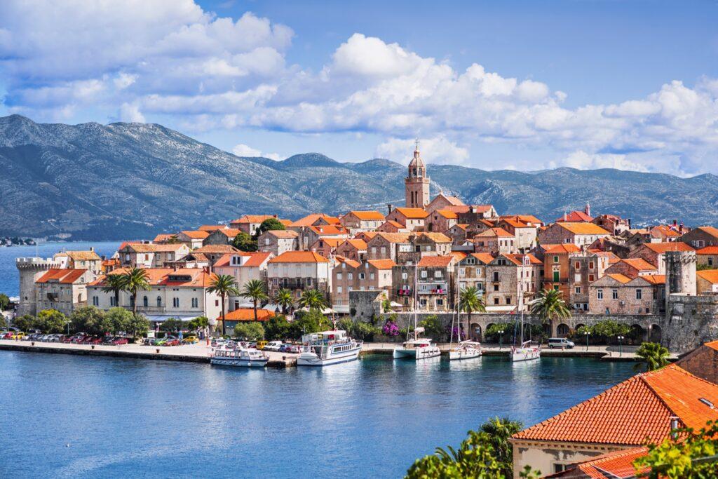 The Dalmatian Islands in Korcula, Croatia