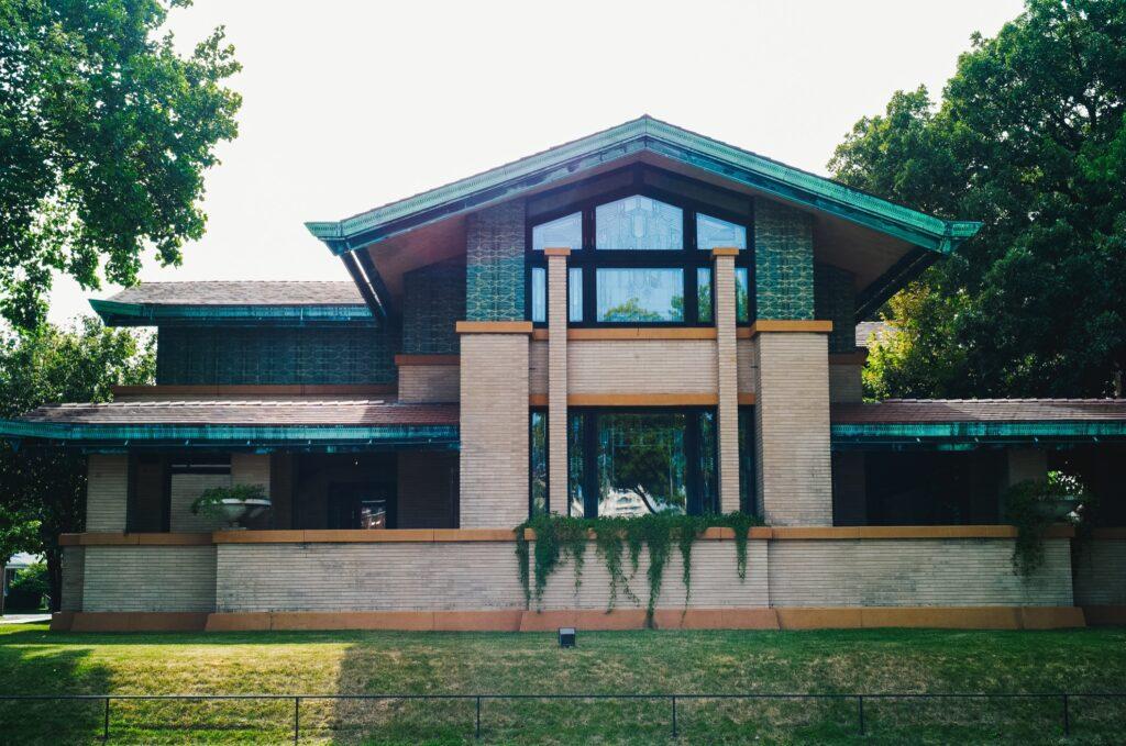 The Dana-Thomas House in Springfield.