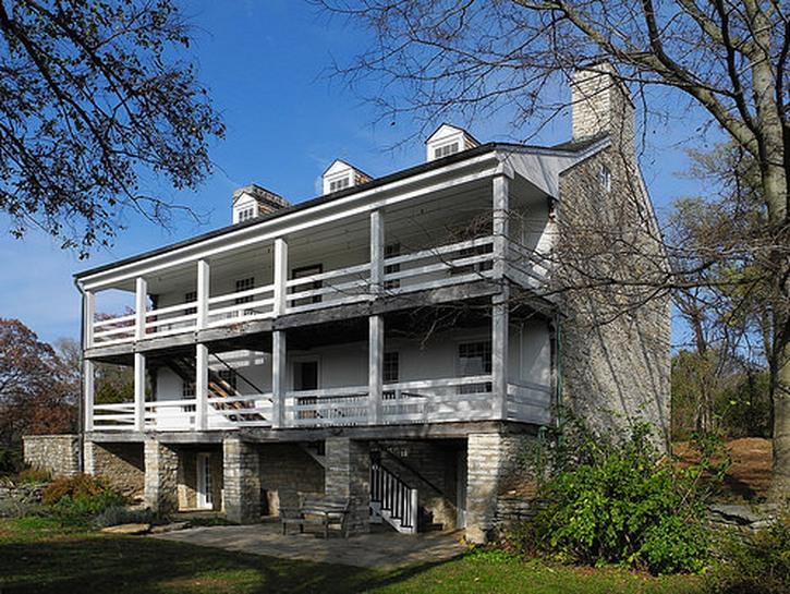 The Daniel Boone home in Missouri.