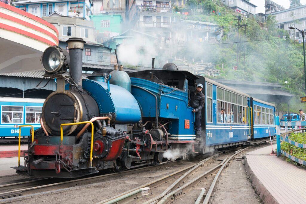 The Darjeeling Himalayan Railroad.