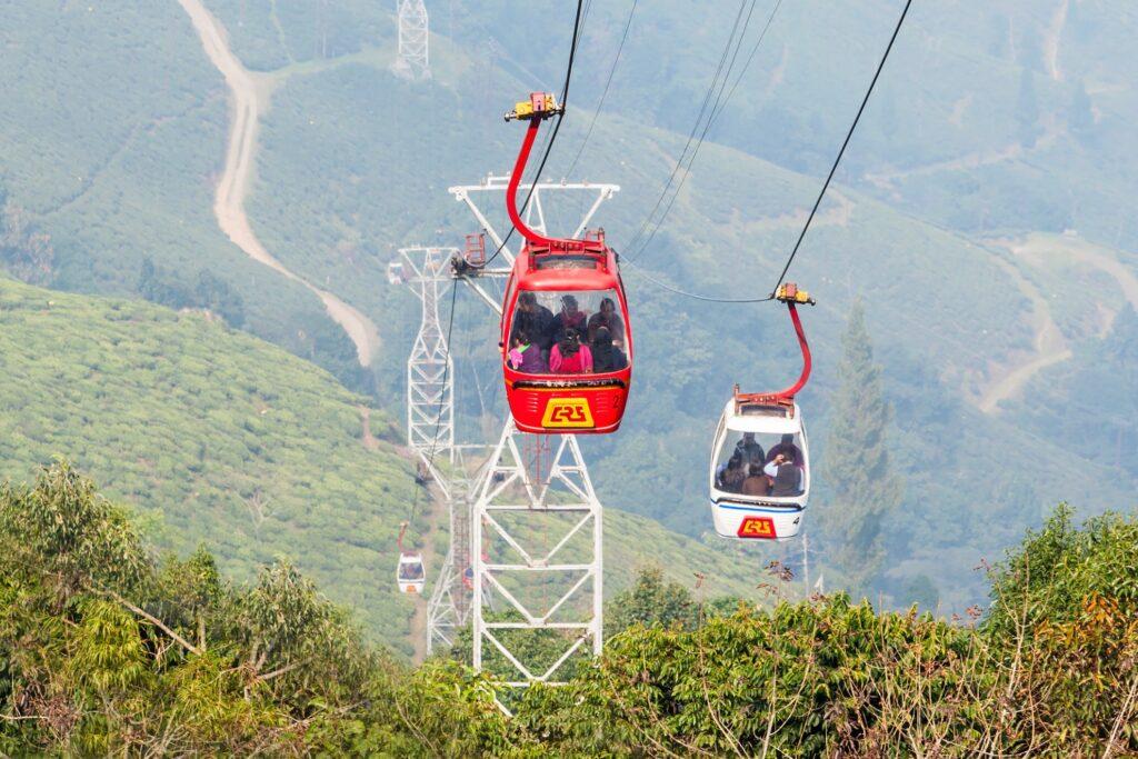 The Darjeeling Ropeway.