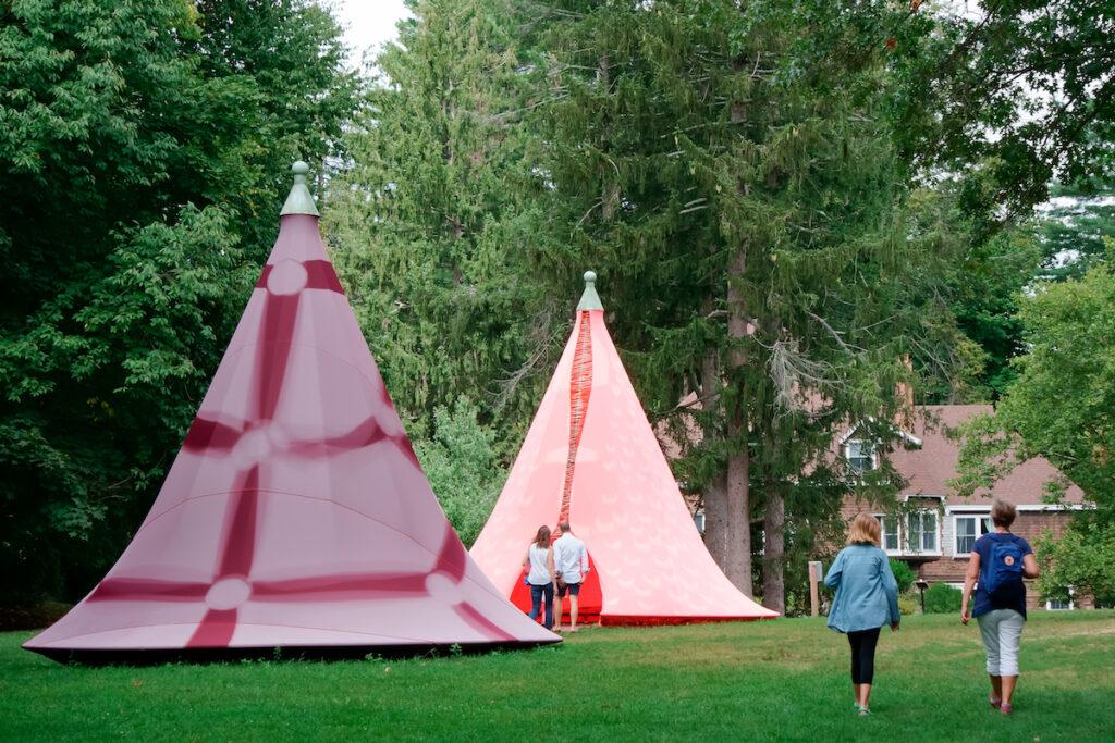 The deCordova Sculpture Park in Lincoln, Massachusetts.