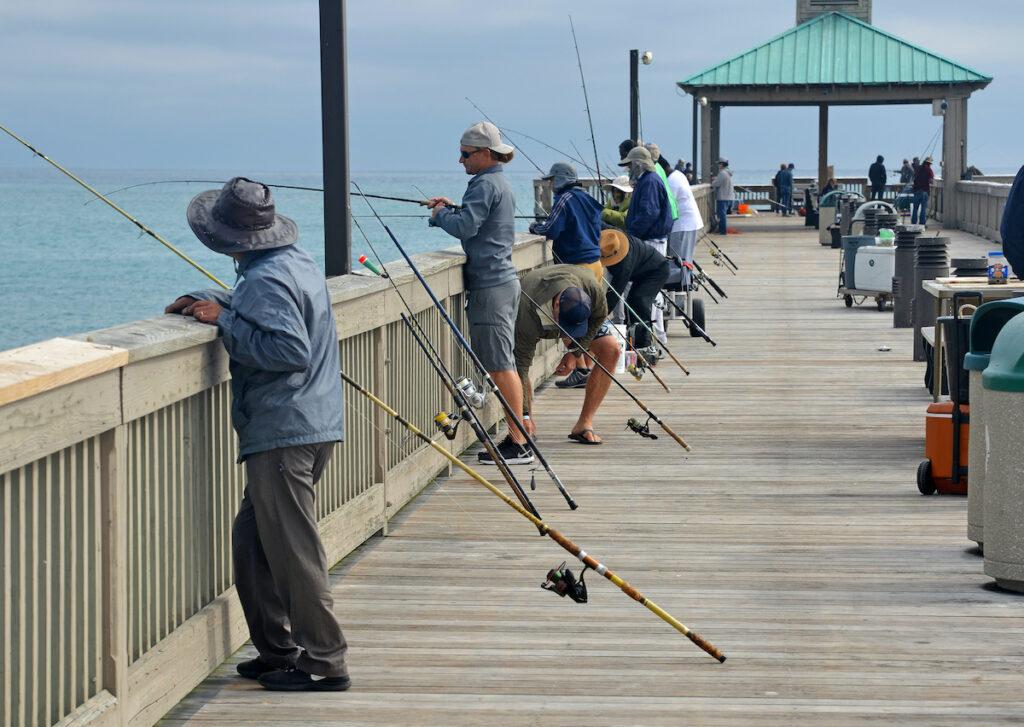 The Deerfield Beach International Fishing Pier in Florida.