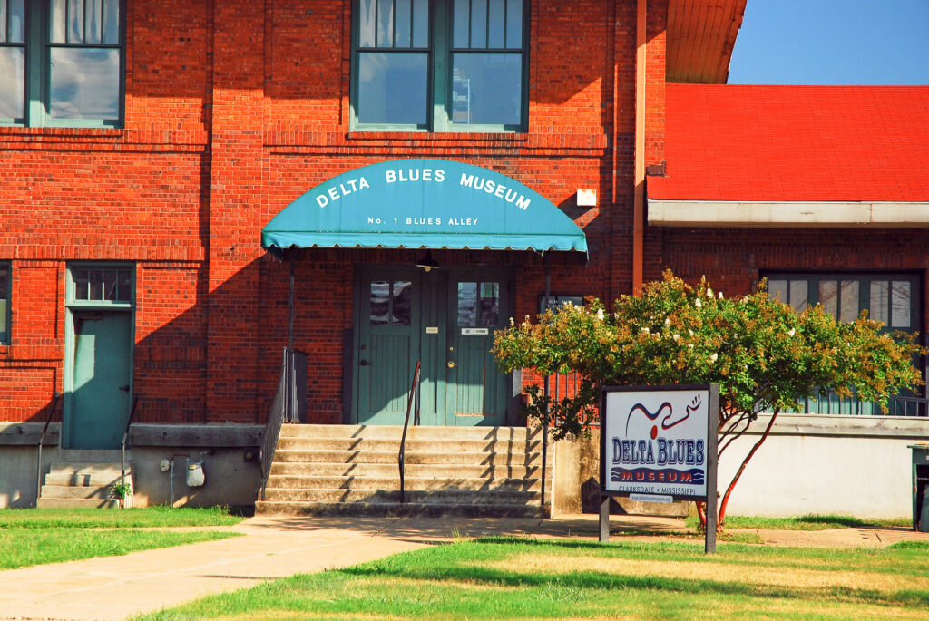 The Delta Blues Museum in Clarksdale.