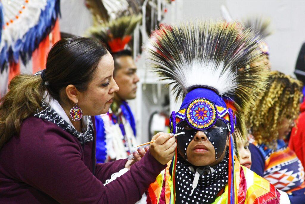 The Denver March Powwow in Colorado.