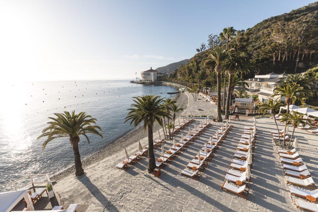 The Descanso Beach Club on Catalina Island.