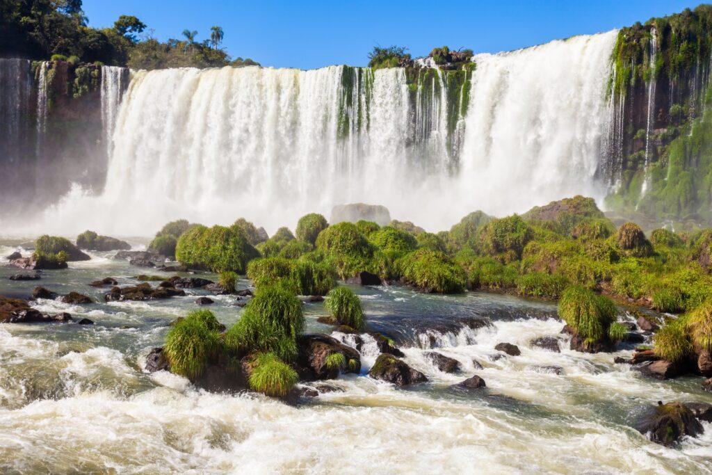 The Devil's Throat at Iguazu Falls.