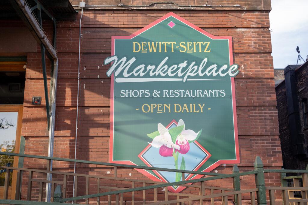 The DeWitt Seitz Marketplace in Duluth.