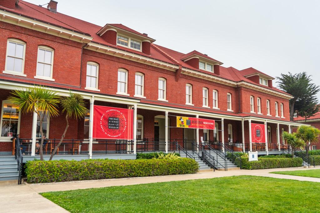 The Disney Family Museum in San Francisco, California.
