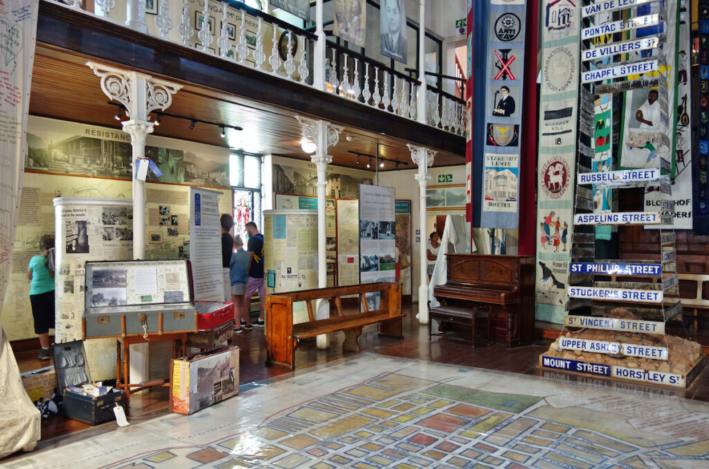 The District Six Museum in Cape Town.