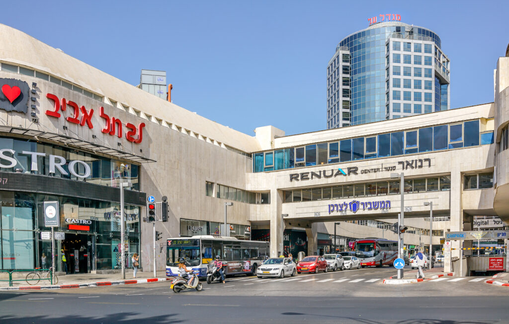 The Dizengoff Center in Tel Aviv.