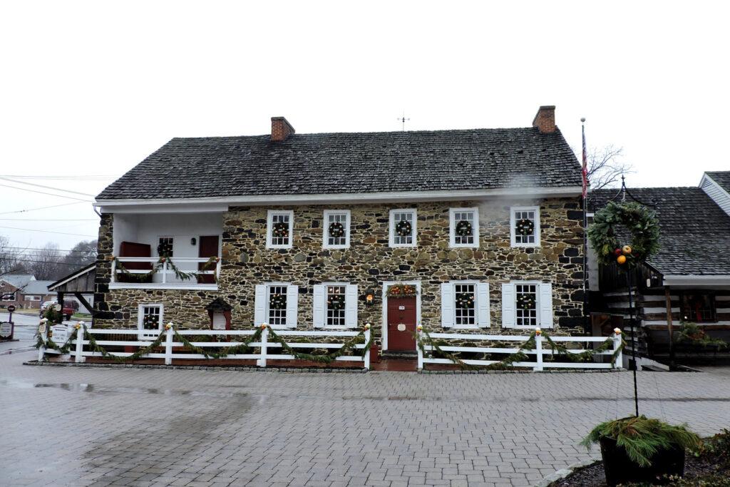 The Dobbin House Tavern in Gettysburg, Pennsylvania.