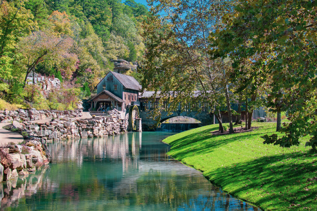 The Dogwood Canyon Nature Park in Branson, Missouri.